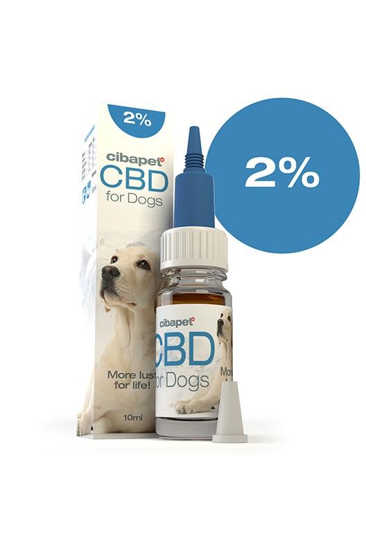 Aceite de CBD 2% para perros