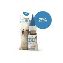Olio di CBD al 2% Per Cani